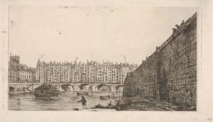 Charles_Meryon,_Le_Pont-au-Change_vers_1784,_1855