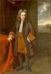 Portrait of Elihu Yale. Oil painting by Enoch Seeman (1717). Yale University Art Gallery. PD-100+ Wikimedia Commons.